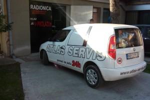 Brendiranje vozila Škoda Praktik