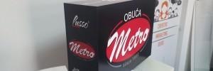 Izrada kutije za promovisanje Obuće Metro na televizijskim emisijama