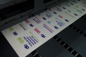 Štampa oznaka za kancelarije i prostorije