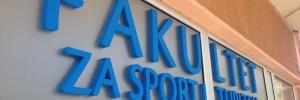 Izrada 3D logotipa za Fakultet za sporti i turizam